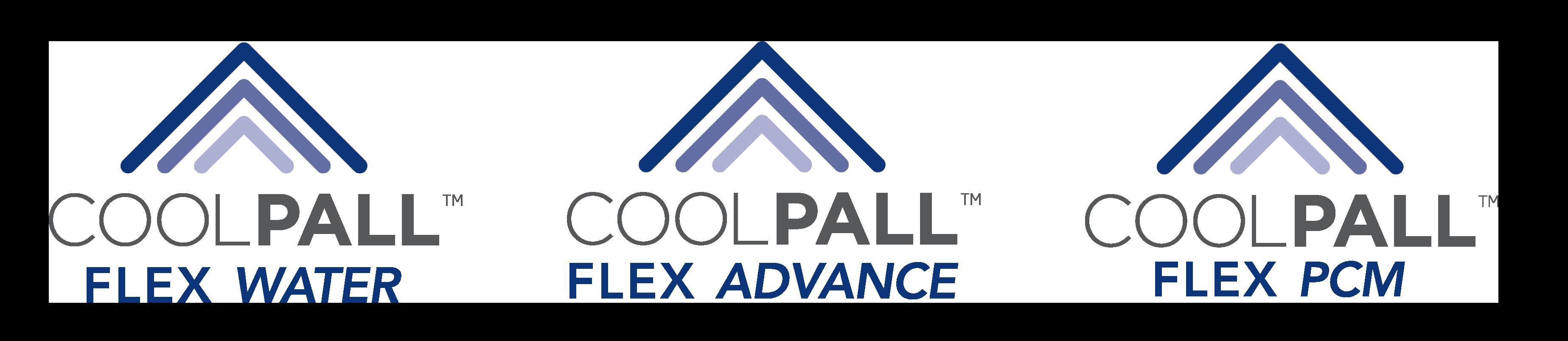 Coolpall Flex Advance Logos