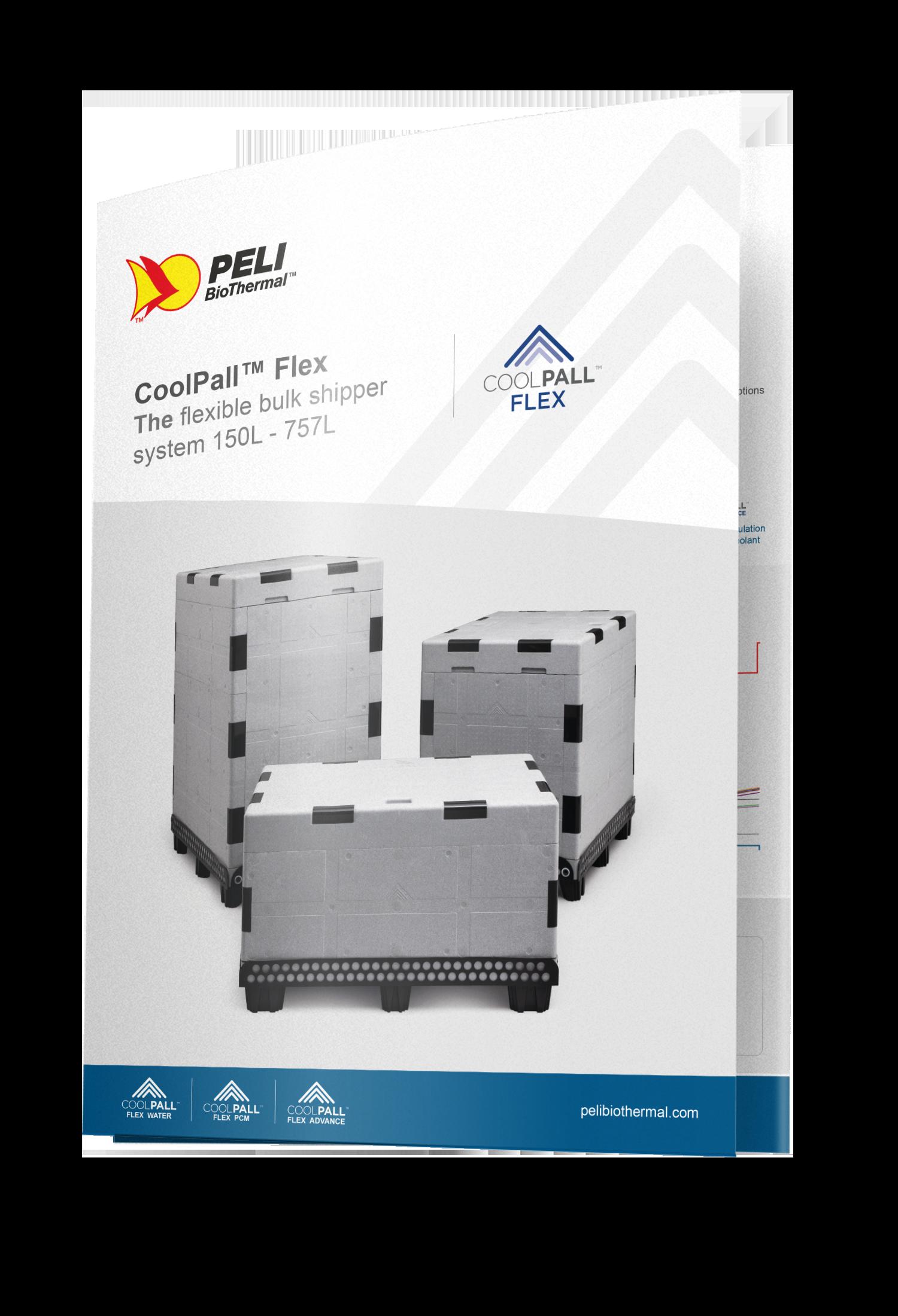 CoolPall™ Flex Trifold Brochure